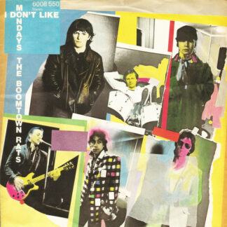 """The Boomtown Rats - I Don't Like Mondays (7"""", Single)"""