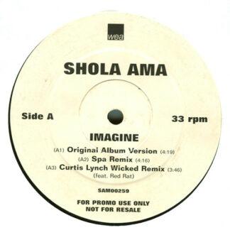 """Shola Ama - Imagine (12"""", Promo)"""