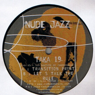 "G. La Tortue & C. Carrier - Nude Jazz (12"")"