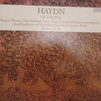 Joseph Haydn, Regina Werner, Peter Schreier, Theo Adam, Rundfunk-Solistenvereinigung Berlin*, Rundfunkchor*, Rundfunk-Sinfonie-Orchester Berlin*, Helmut Koch - Die Schöpfung (2xLP)