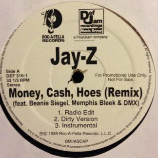 "Jay-Z - Money, Cash, Hoes (Remix) / Jigga What? (12"", Promo)"