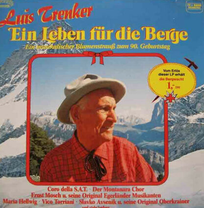 Various - Luis Trenker- Ein Leben Für Die Berge (2xLP, Comp)
