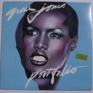 Grace Jones - Portfolio (LP, Album, P/Mixed, RE)