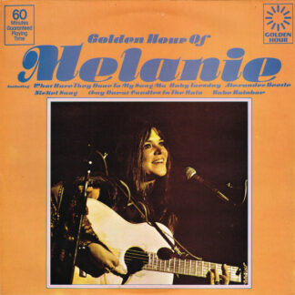 Melanie (2) - Golden Hour Of Melanie (LP, Comp)
