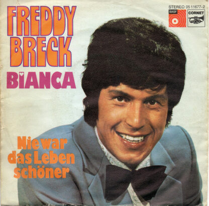 """Freddy Breck - Bianca (7"""", Single)"""
