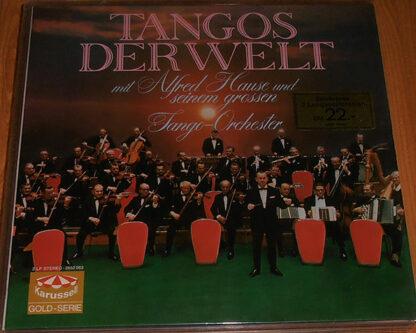 Alfred Hause Und Sein Grosses Tango-Orchester* - Tangos Der Welt (2xLP, Comp, Gat)