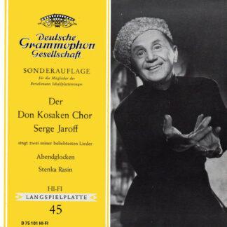 "Der Don Kosaken Chor Serge Jaroff* - Abendglocken / Stenka Rasin (7"", Mono, Club)"