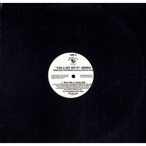 """Timbaland & Magoo featuring DeVante Swing - Can U Get Wit It (Remix) (12"""", Single, Promo)"""