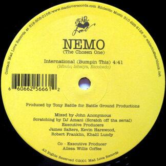 "Nemo (The Chosen One) - International (Bumpin This) (12"")"