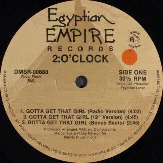 "2:O'Clock - Gotta Get That Girl (12"")"