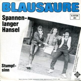 """Blausäure - Spannenlanger Hansel (7"""")"""