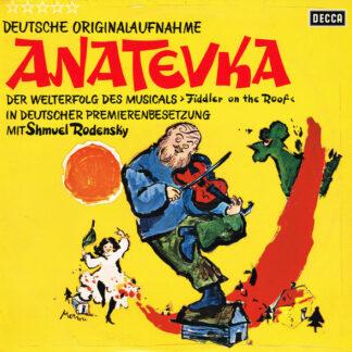 Shmuel Rodensky - Anatevka (Deutsche Originalaufnahme) (LP, Album)