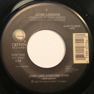 "John Lennon - (Just Like) Starting Over / Woman (7"", Single, RE)"