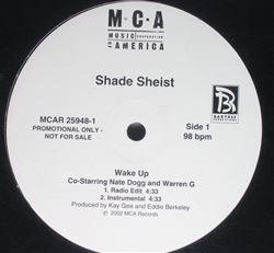 "Shade Sheist - Wake Up (12"", Promo)"