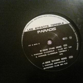 "Les Enfants Terrible (2) - Paradis (12"")"