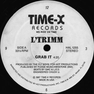 "L'Trimm - Grab It (12"", Whi)"