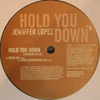 """Jennifer Lopez - Hold You Down (12"""", Promo)"""