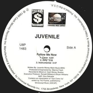 "Juvenile (2) - Follow Me Now / Back That Azz Up (12"", Promo)"