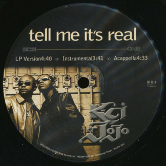 "K-Ci & JoJo - Tell Me It's Real (12"", Promo)"