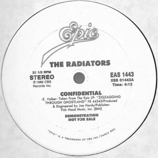 "The Radiators - Confidential (12"", Single, Promo)"