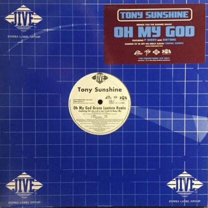 """Tony Sunshine - Oh My God (Green Lantern Remix) (12"""", Promo)"""