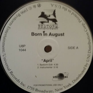 "Born In August - April (12"", Promo)"