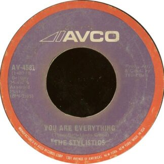 """The Stylistics - You Are Everything (7"""", Single, She)"""