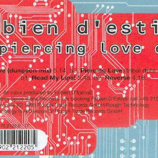"""Fabien D'Estival - Piercing Love EP (12"""", EP)"""