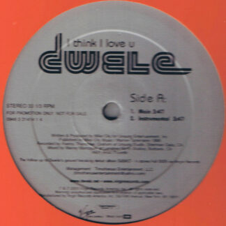 "Dwele - I Think I Love U (12"", Promo)"