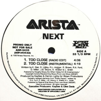"Next (2) - Too Close (12"", Promo)"