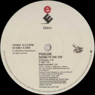 "Phalon* - Rising To The Top (12"", Promo)"