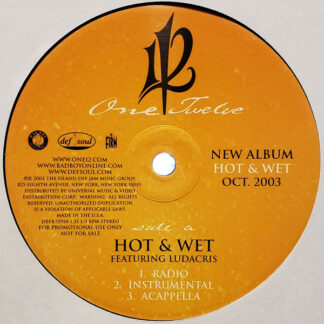 "112 - Hot & Wet (12"", Promo)"
