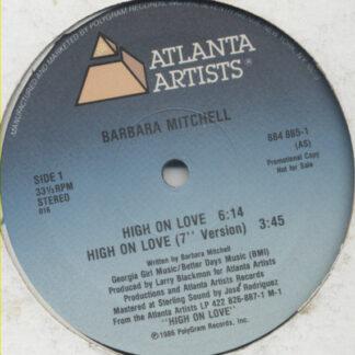 "Barbara Mitchell - High On Love (12"", Maxi, Promo)"