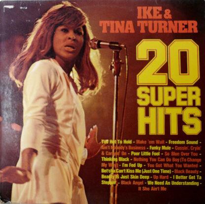 Ike & Tina Turner - 20 Super Hits (LP, Comp)