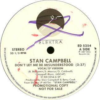 "Stan Campbell - Don't Let Me Be Misunderstood (12"", Promo)"