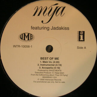 "Mya Feat. Jadakiss - The Best Of Me (12"", Promo)"
