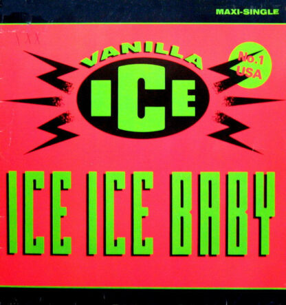 """Vanilla Ice - Ice Ice Baby (12"""", Maxi)"""