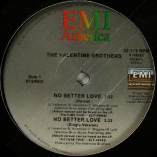 """The Valentine Brothers - No Better Love (12"""", Maxi)"""