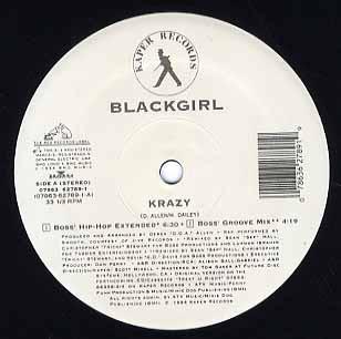 """Blackgirl - Krazy (12"""", Pro)"""