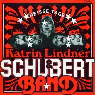Katrin Lindner & Schubert-Band - Heisse Tage (LP, Album, Blu)