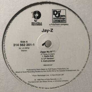 """Jay-Z / Beanie Siegel* - Jigga My N**** / What A Thug About (12"""")"""