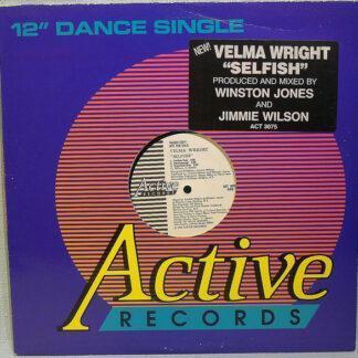 """Velma Wright - Selfish (12"""", Promo)"""