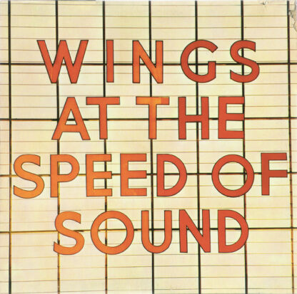 Wings (2) - Wings At The Speed Of Sound (LP, Album)