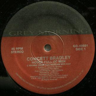 """Concett Bradley - House Full Of Men (12"""", Spe)"""