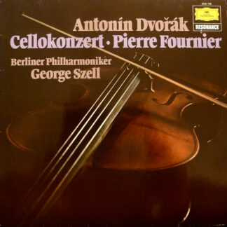 Antonín Dvořák - Pierre Fournier, George Szell, Berliner Philharmoniker - Cellokonzert (LP, RE)
