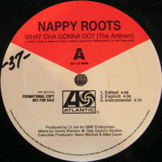"Nappy Roots - What Cha Gonna Do? (The Anthem) (12"", Promo)"