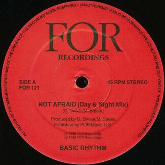"""Basic Rhythm - Not Afraid (12"""")"""