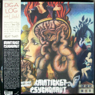 Brainticket - Psychonaut (LP, Album, RE, RM + CD, Album, RE, RM)