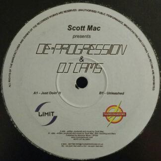 """Scott Mac Presents De-Progression & DJ Cams - Just Doin' It (12"""")"""