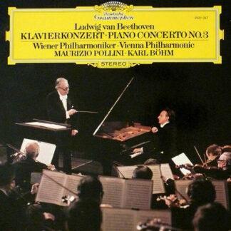 Ludwig van Beethoven - Vienna Philharmonic*, Karl Böhm, Maurizio Pollini - Piano Concerto No.3 (LP)